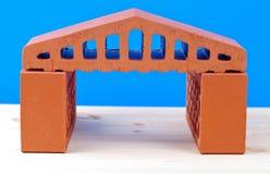Brick house symbol Royalty Free Stock Photography