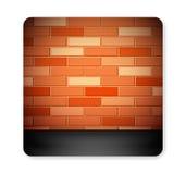 Brick icon Royalty Free Stock Photos