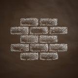Brick icon Stock Photography