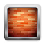 Brick icon Stock Photography