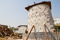 Brick kiln. for use burn monk mold Royalty Free Stock Image