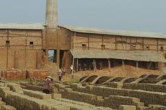 Brick kilns Stock Images