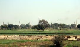 Brick Kilns Stock Image