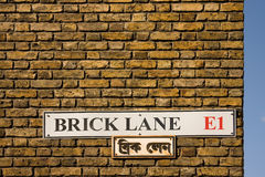 Brick Lane, London Royalty Free Stock Image