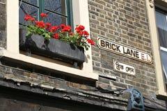 Brick Lane Royalty Free Stock Photography