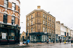 Brick lane view Royalty Free Stock Photo