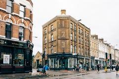 Brick lane view Royalty Free Stock Photo