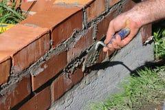 Brick layer Stock Image