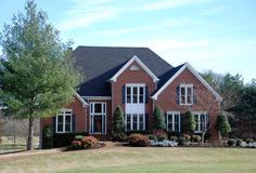Brick Luxury Home 39 Stock Photos