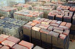 Brick Making Factory Stock Image