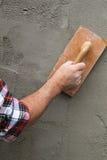 Brick mason Stock Image