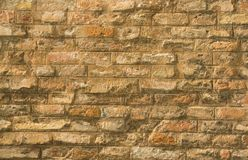 Brick masonry Royalty Free Stock Image