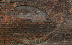 Brick masonry Wall Stock Image