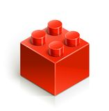 Brick meccano toy Royalty Free Stock Photos