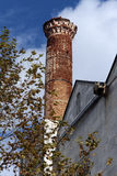 Brick minaret Stock Images