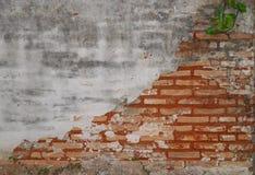 Brick and mortar wal Stock Photo