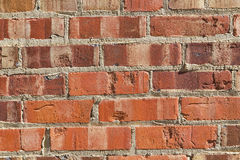 Brick and mortar wall background Royalty Free Stock Photography