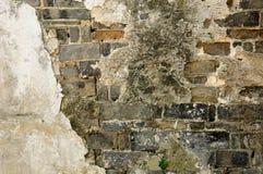 Brick and Mortar Wall Royalty Free Stock Photos