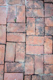 Brick old floor background Stock Photography
