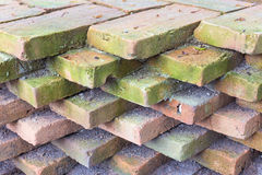 Brick. The old brick texture background Stock Photo