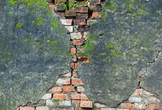 Brick old wall color dirty Stock Photo