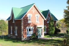 Brick Ontario farmhouse Royalty Free Stock Image