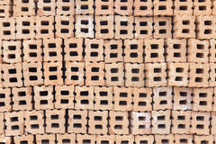 Brick orange pattern for building Stock Photo