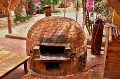 Brick Oven Royalty Free Stock Image
