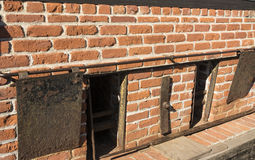 Brick Ovens. On a clipper ship Stock Photography
