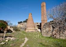 Brick ovens in Spain Stock Images