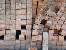 Brick Palette Stock Image