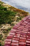 Brick path Stock Images