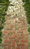 Brick path Stock Image