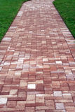 Brick path Stock Photo
