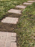 Brick path way Stock Photography