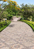 Brick pathway Royalty Free Stock Photo