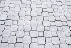 Brick patio Royalty Free Stock Image