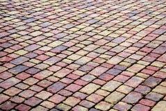 Brick patio royalty free stock photo