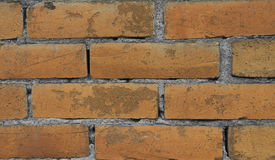 Brick Pattern. An old red brick pattern. Its similar to the ones on chimneys. Useful for backgrounds or wallpapers etc Stock Photography