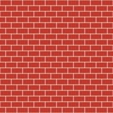 Brick pattern. Seamless vector brick wall background Royalty Free Stock Photography