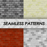 Brick patterns Royalty Free Stock Images