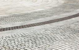 Brick pavement Royalty Free Stock Image