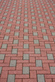 Brick pavement Stock Photos