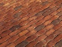 Brick Pavement Stock Images
