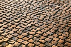 Brick pavement Stock Photography