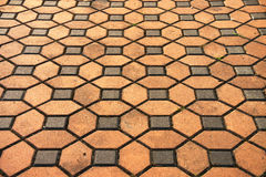 Brick pavement pattern. For exterior design royalty free stock images