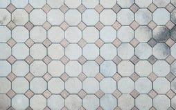 Brick pavement pattern Royalty Free Stock Photo