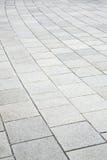 Brick pavement road Royalty Free Stock Photo