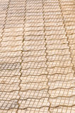 Brick pavement sidewalk Stock Images