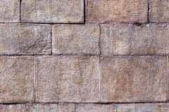 Brick pavement tile, top view. Texture as background. Royalty Free Stock Images